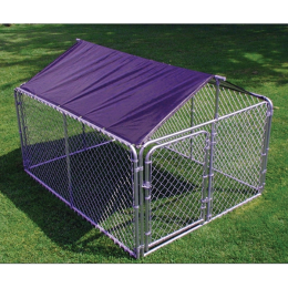 Stephens Pipe & Steel Solid Kennel Roof 10 ft x 10 ft