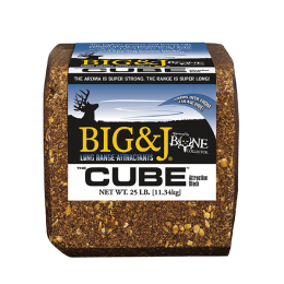 Big & J Cube Deer Block 25 lb