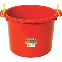 Duraflex Muck Tub Red 70 qt