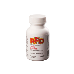RFD Liquid Wormer For Puppies And Dogs 2 oz