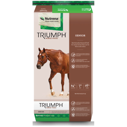 Triumph Senior Textured Horse Feed 50 lb