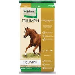 Triumph Professional Pelleted Horse Feed 50 lb