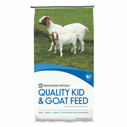 Southern States 17% Goat Feed (Deccox) Medicated 50 lb