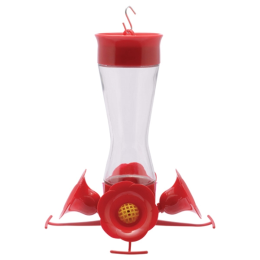 Perky-Pet Pinch-Waist Glass Hummingbird Feeder
