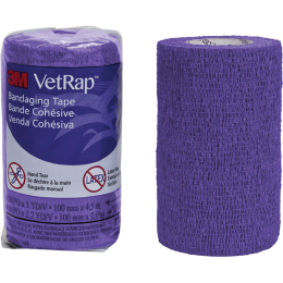 VetRap Bandaging Tape 4 in x 5 yd Purple