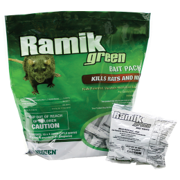 Ramik Green Mini Rat & Mouse Bait Packs 4 lb
